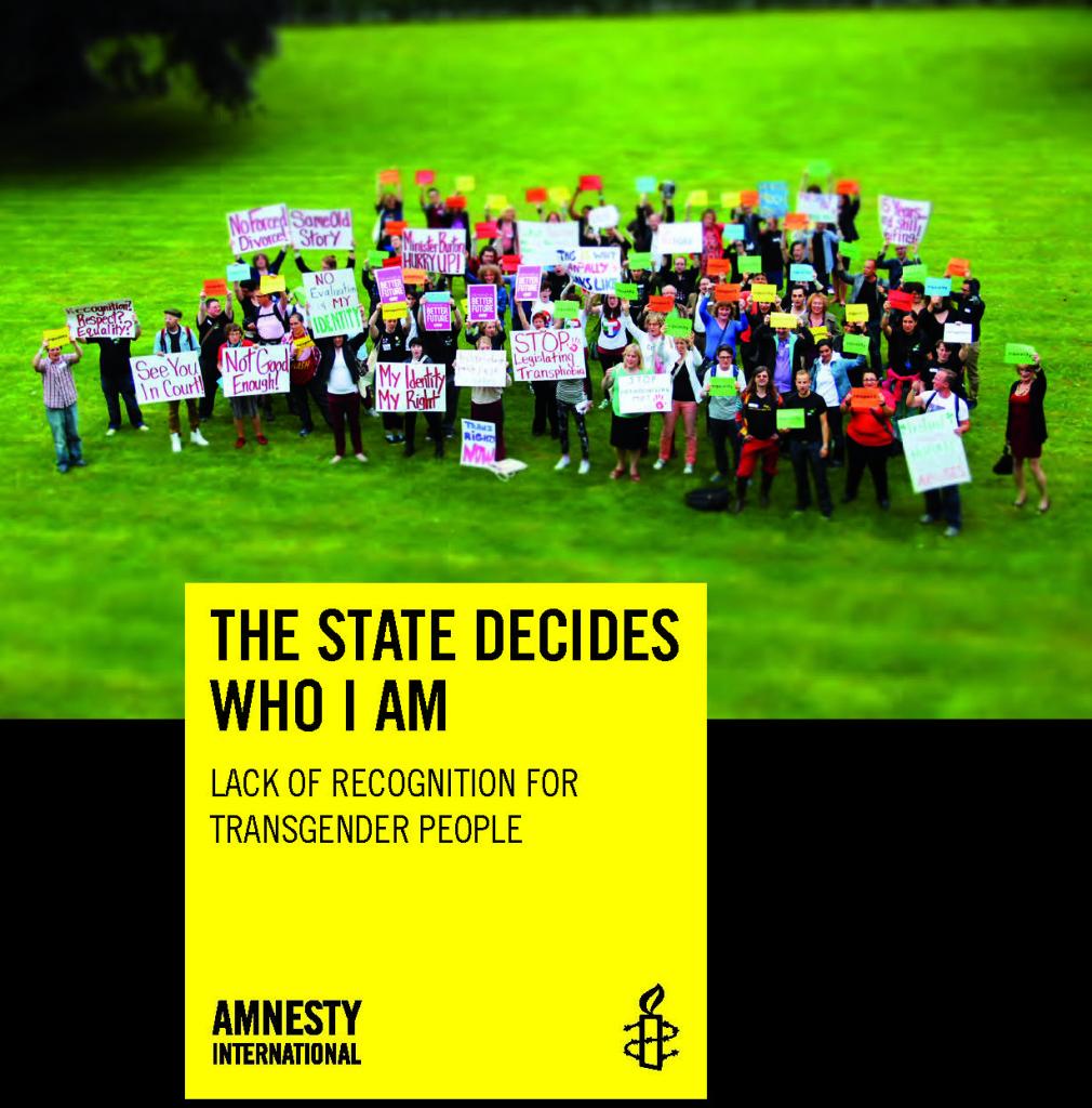 Titelbild Amnesty-Report